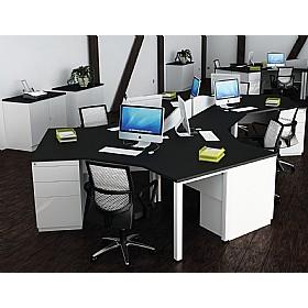 Presence Cluster Desks Cheap Presence Cluster Desks From