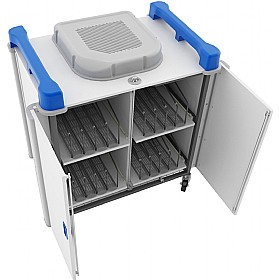 LapCabby Up-Link - Vertical Laptop Store and Charging Trolleys