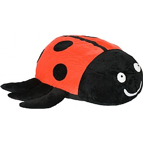 Back To Nature Lucy Ladybird Floor Cushion