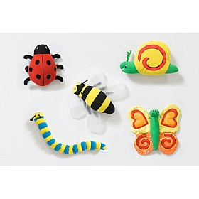 Back To Nature Bug Characters (Pack of 5)