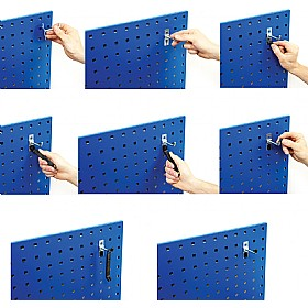 Bott Perforated Panel - Double Hooks