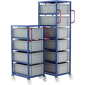 Mobile Tray Rack for 235mm Euro Containers