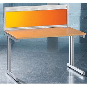 Forma Acrylic Desktop Screens - With Rail