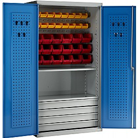 Redditek Small Parts Storage Euro Cabinet £1078   Workshop