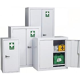 Redditek first aid floor cabinet cheap redditek first for Flooring or cabinets first