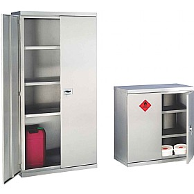 Stainless Steel Hazardous Cabinets £540   Workshop