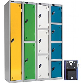 Premium Coin Retain Lockers With Activecoat