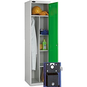 Uniform Coin Retain Lockers With ActiveCoat