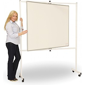 Ultralon Mobile Magnetic Pivoted Whiteboard