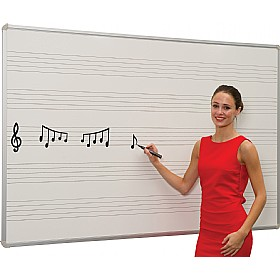 Ultralon Marked Music Whiteboards