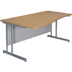 NEXT DAY Merge Cantilever Wave Desks