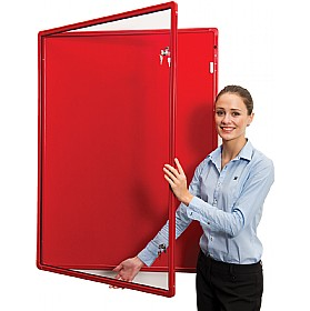 Ultralon FlameShield ECO Friendly Colour Co-ordinated Tamperproof Aluminium Frame Noticeboards