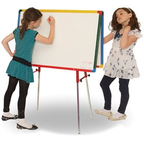 Little Rainbows Twin Whiteboard Junior Easel