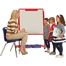 Little Rainbows Mobile Magnetic Display/Storage Easel