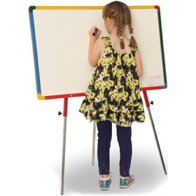 Little Rainbows Single Sided Whiteboard Easel