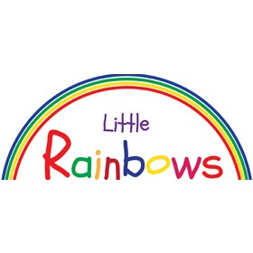 Little Rainbows Magnetic Desktop Whiteboard Easel