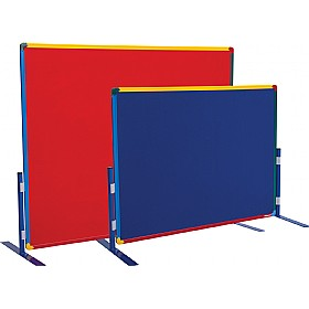 Little Rainbows Freestanding Junior Partition Screens
