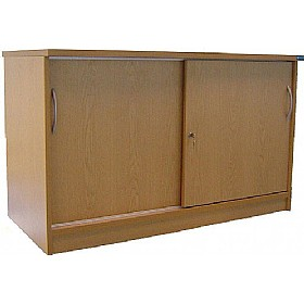 Accord Desk High Sliding Door Cupboards