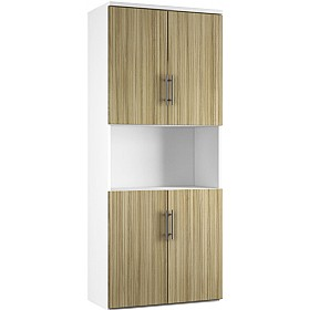 Reflections Light Olive Twin Double Door Combination Cupboard