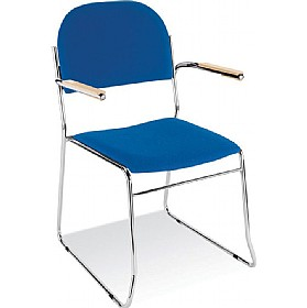 Vest Sled Skid Base Stacking Chair
