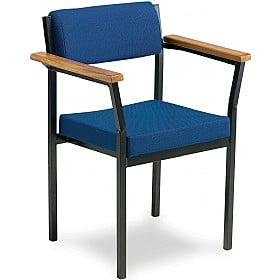 Traditional Extra Heavy Duty Stacking Chair