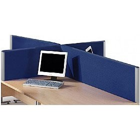 Optima Rectangular Desktop Screens £52 - Office Furniture