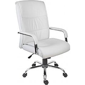 office chair white cheap cumbria executive office chair white