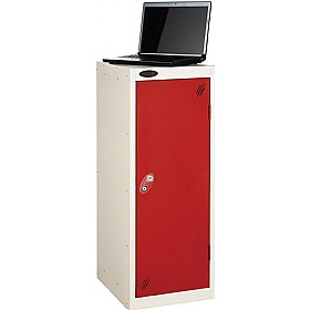 Premium Low Laptop Storage Lockers With ActiveCoat