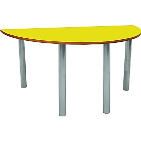 Scholar Heavy Duty Semi-Circular Tables