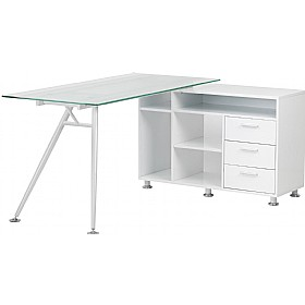 Daemon Glass Corner Workstation