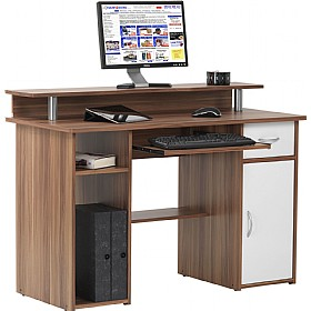 Liberty Computer Desk Walnut