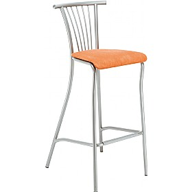 Baleno Tall Upholstered Bar Stool (Pack of 4)
