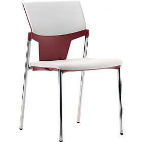 leg conference chair cheap pledge ikon upholstered 4 leg conference