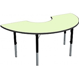 Height Adjustable Arc Pastel Theme Table