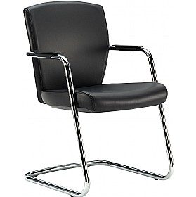 Pledge Key Full Back Cantilever Conference Chair