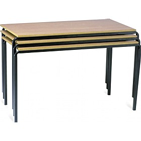 Scholar Crush Bent Rectangular Tables