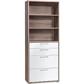 Venture Tall Combination Unit WIth Drawers