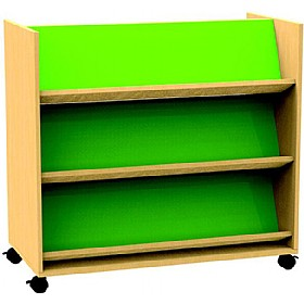 Funky Double Sided Bookcase