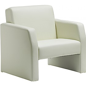 Rest Enviro Leather Armchair Ivory