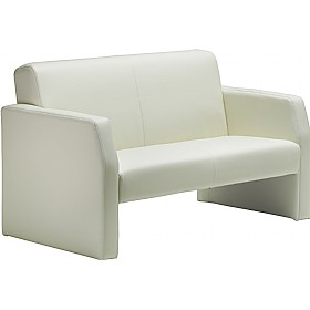 Rest Enviro Leather 2 Seat Sofa Ivory