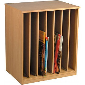 Vertical Big Book Storage