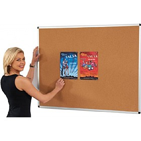 Aluminium Framed Cork Noticeboards