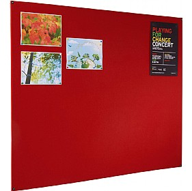 Eco-Friendly Frameless Felt Covered Noticeboard