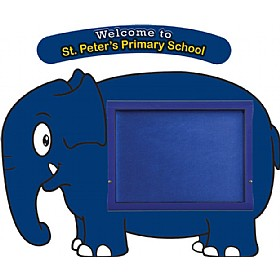 WeatherShield Nursery / Primary Welcome Sign - Elephant