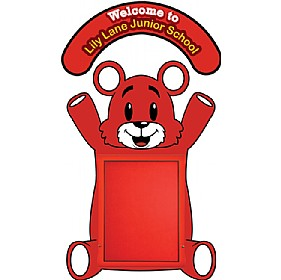 WeatherShield Nursery / Primary Welcome Sign - Teddy Bear