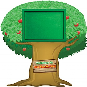 WeatherShield Nursery / Primary Welcome Sign - Tree