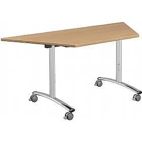 Solar Trapezoidal Tilt Top Tables