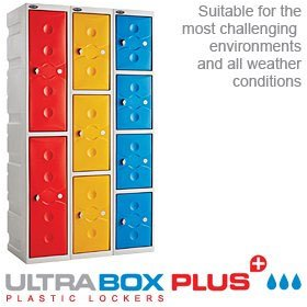 UltraBox Plus Waterproof Plastic Lockers