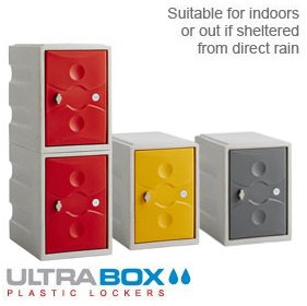 UltraBox Mini Water Resistant Plastic Lockers