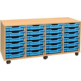 4Store 24 Tray Shallow Storage Unit